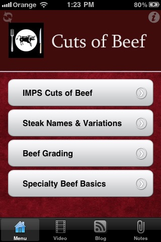 Cuts Of Beef screenshot-0
