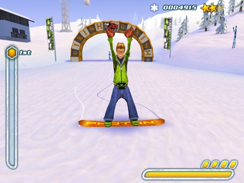 Screenshot #5 for Snowboard Hero