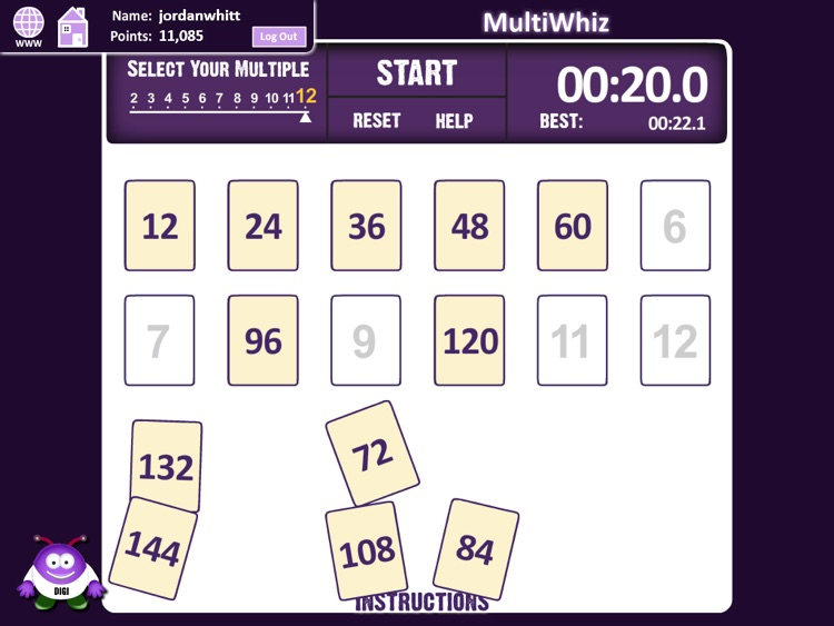 DigitWhiz Math screenshot-1