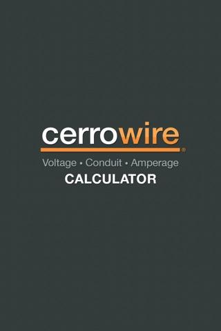 Cerrowire Electrical Calculator-0