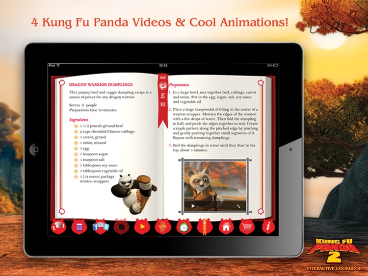 Kung Fu Panda 2 Interactive Cookbook HD Lite screenshot-3