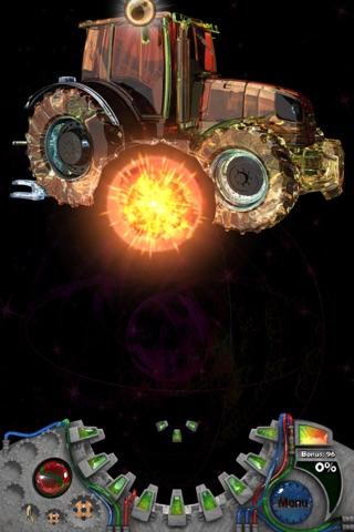 Crystal Crusher HD - 無料の3Dシューティング・パズル・ゲームのスクリーンショット2
