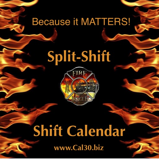 Shift Calendar Split-Shift iOS App