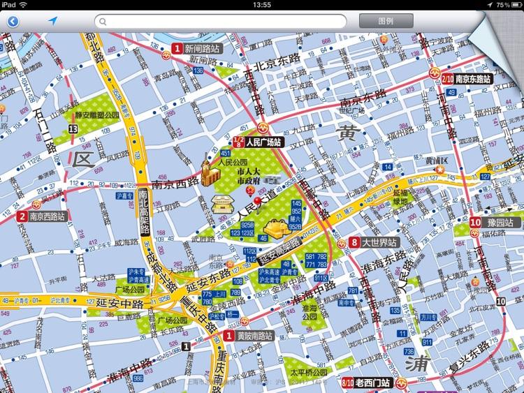 上海地图—大城区详图HD