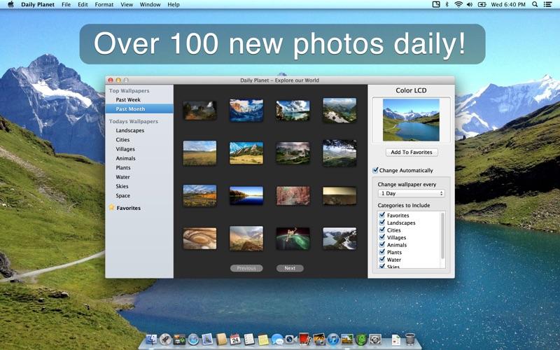 Daily Planet скриншот программы 1