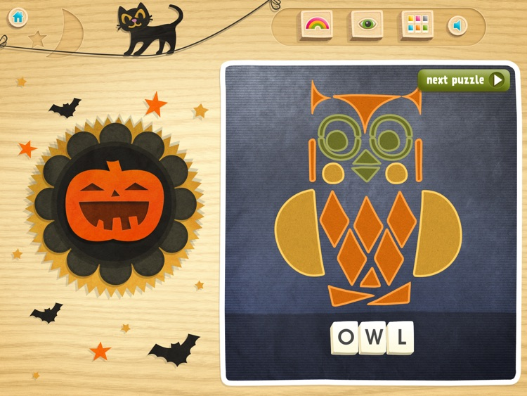 Halloween Shape-O! ABC's screenshot-3