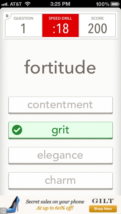Quizzitive – A Merriam-Webster Word Game screenshot-2