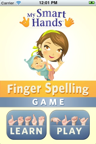My Smart Hands Finger Spelling Game