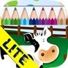 お絵描きとぬり絵:牧場 LITE - iPhoneアプリ