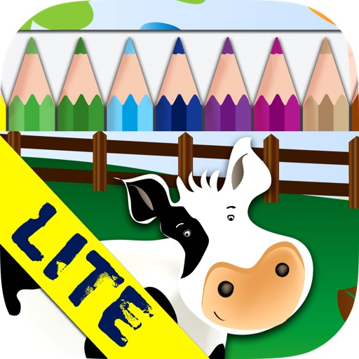 Draw and Colour: The Farm LITE