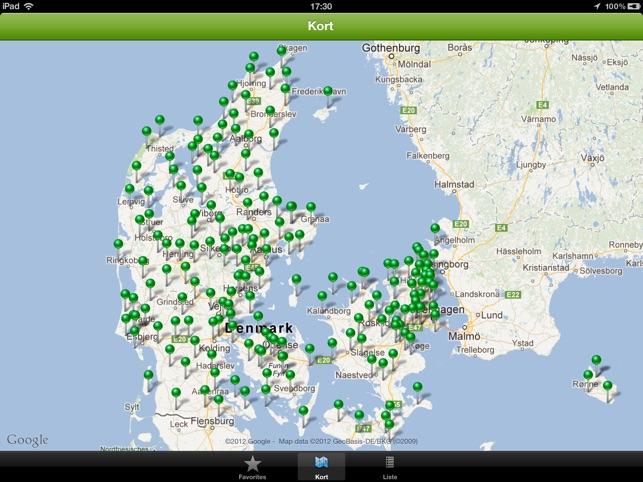 Danske Golfbaner On The App Store