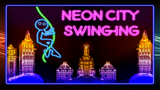 Neon City Swing-ing: Super-fly Glow-ing Rag-Doll with a