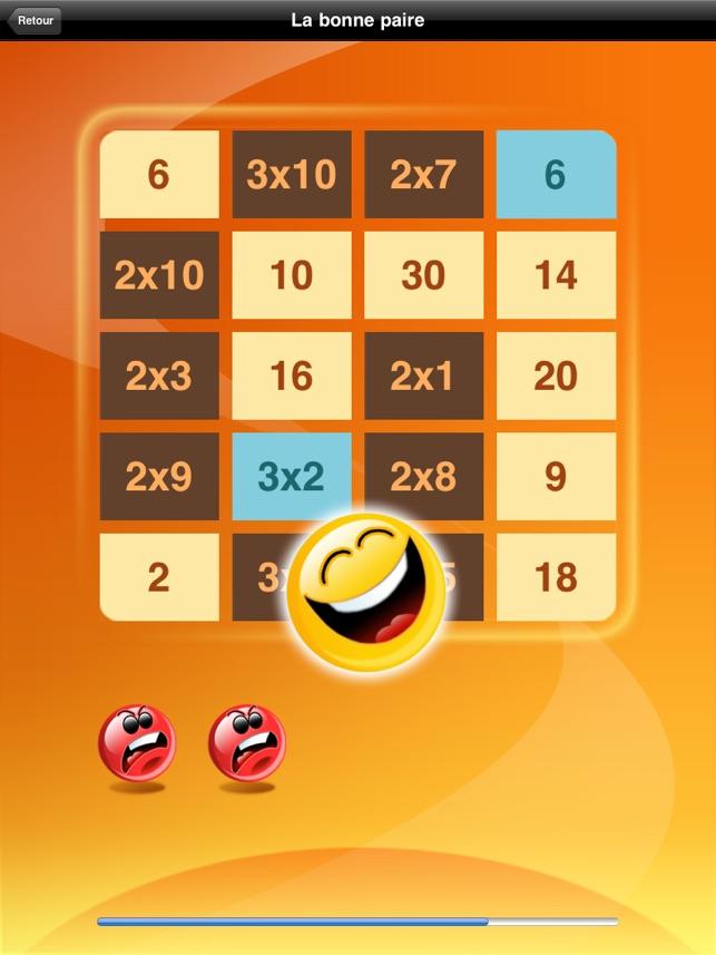 Multi tables hd lite les tables de multiplication dans l - Application table de multiplication ...