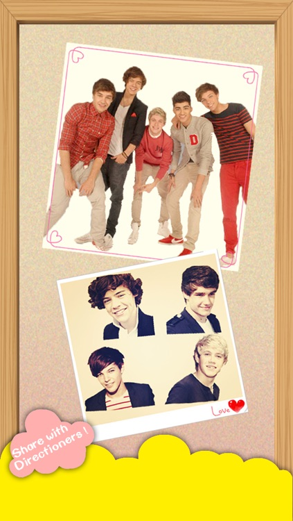 One Direction & Me - One Direction version app stand gratuito per Facebook, Instagram, Flickr, Omegle & Pinterest screenshot-3