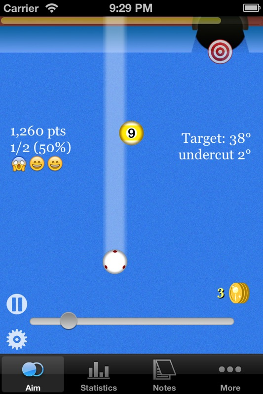 Aiming Sense Lite - Pool/Snooker - Online Game Hack and