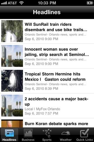 Orlando Local News Free Screenshot on iOS
