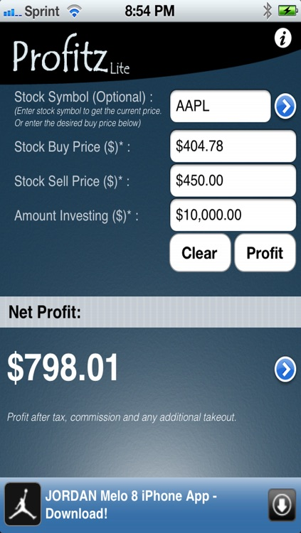 Profitz Lite screenshot-0