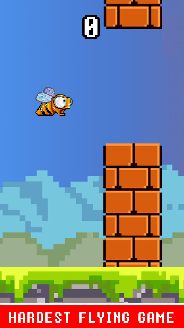 Flappy Fly Hard ™ - Not An Easy Bird Game Impossible!のおすすめ画像2
