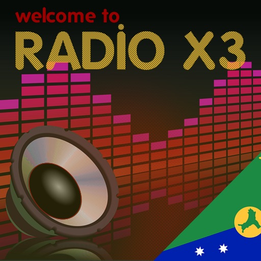 X3 Christmas Islands Radio icon