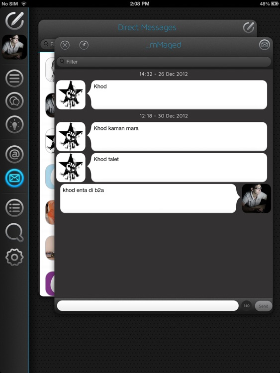 Neatly - The smart twitter client for iPad screenshot-4