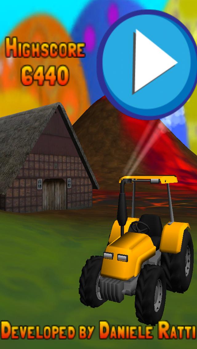Scappa dal trattore