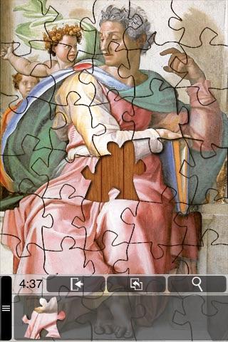 Michelangelo Jigsaw Puzzles screenshot-3