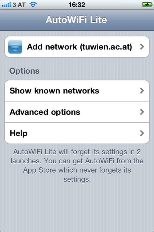 AutoWiFi Lite screenshot-0