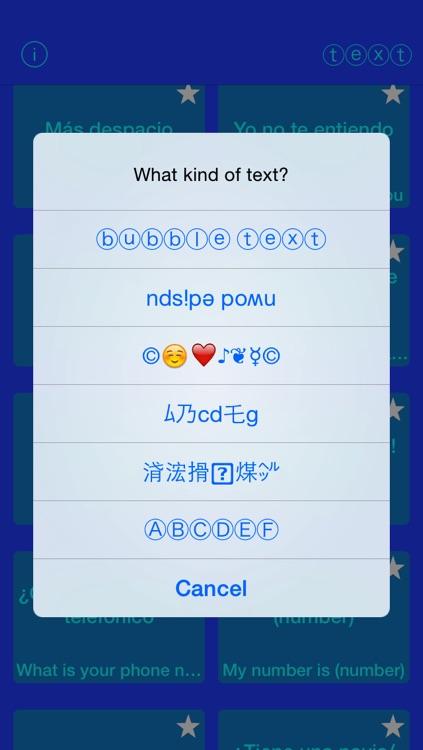 Easy Spanish Texting screenshot-3