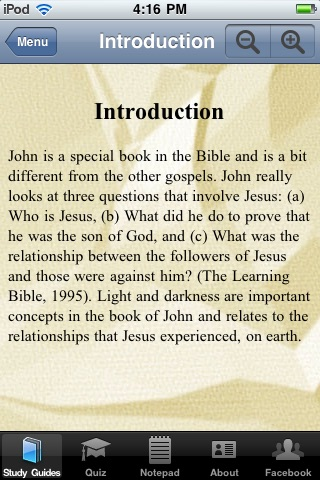The Gospel of John Bible Study App
