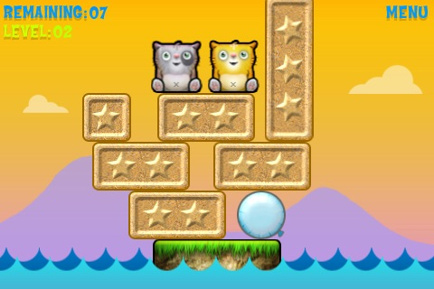 Danger Cats! LITE screenshot-1