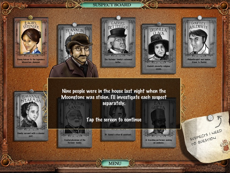 Victorian Mysteries®: The Moonstone HD screenshot-4