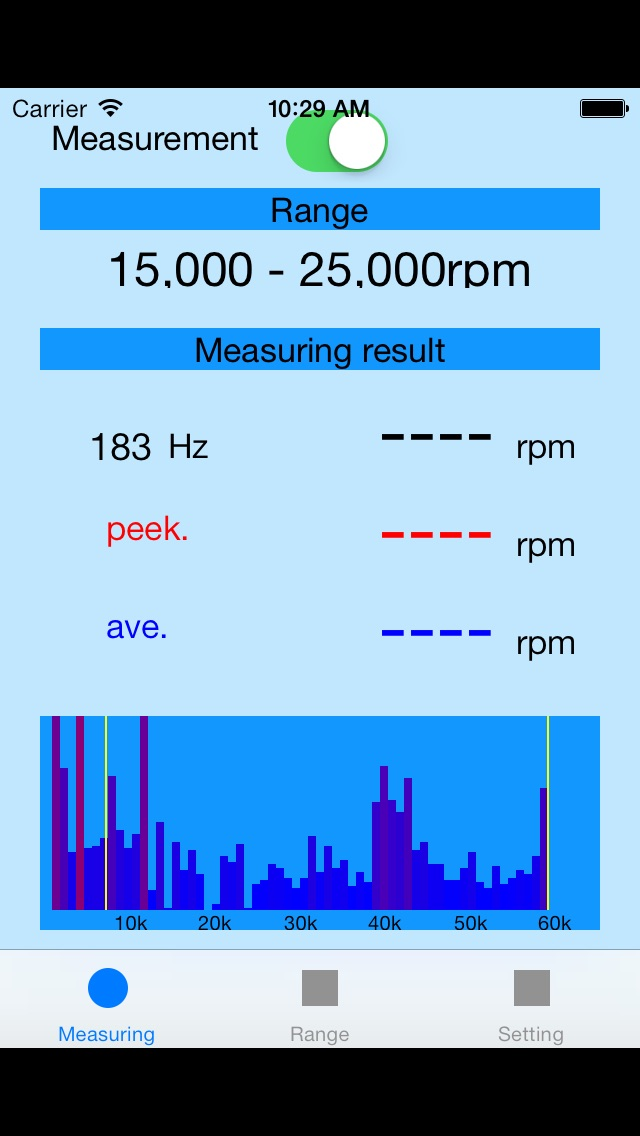 RPM測ってみる? screenshot1