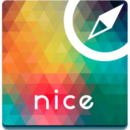 Nice (France) offline map, guide & hotels