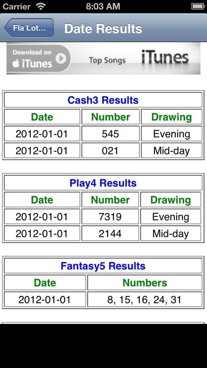 Fl lotto cash 3