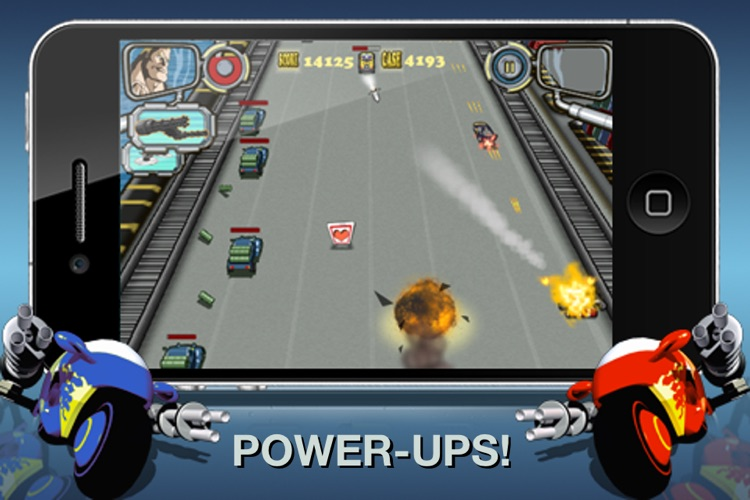 Guns on Wheels screenshot-3