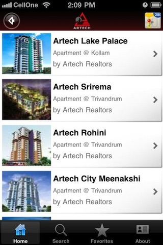 Artech Realtors by Islet Systems