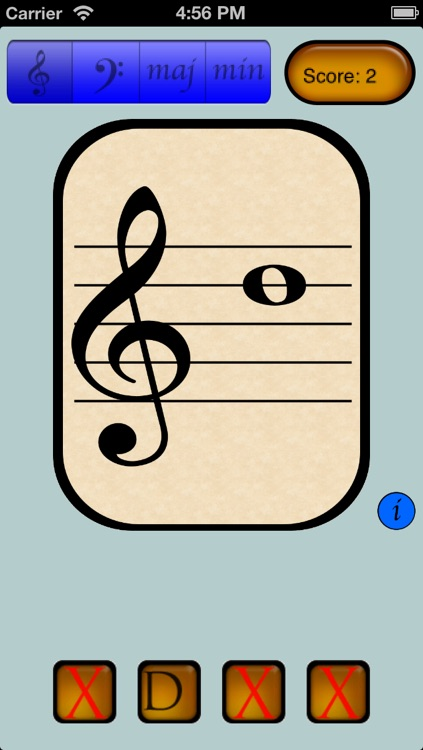 Music Note and Key Signature Flashcards
