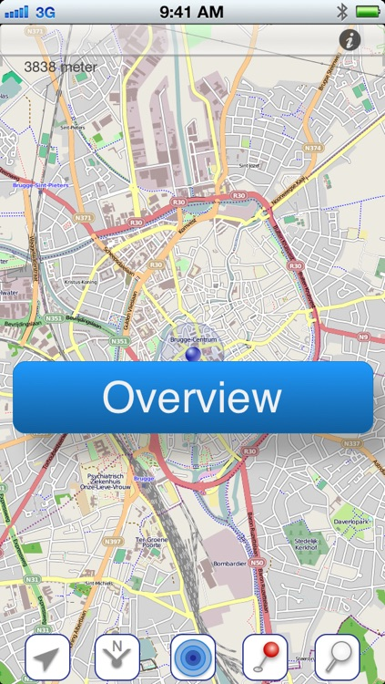 Brussels Offline Map screenshot-4