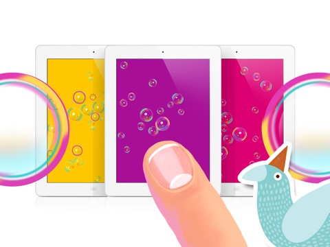 Пузыри на iPad