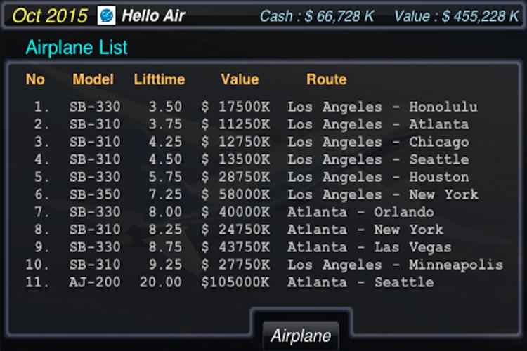AirTycoon - Airline Management screenshot-4