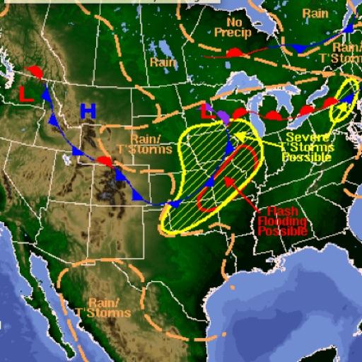 US Weather Maps icon