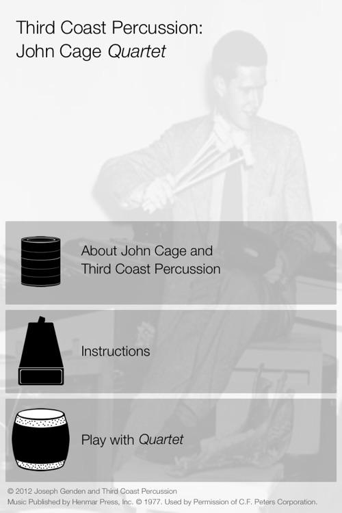 Third Coast Percussion: John Cage
