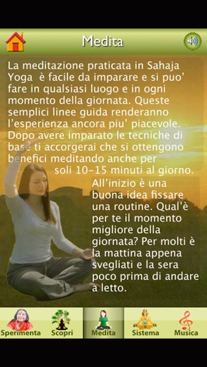 Sahaja Yoga Italia screenshot-3