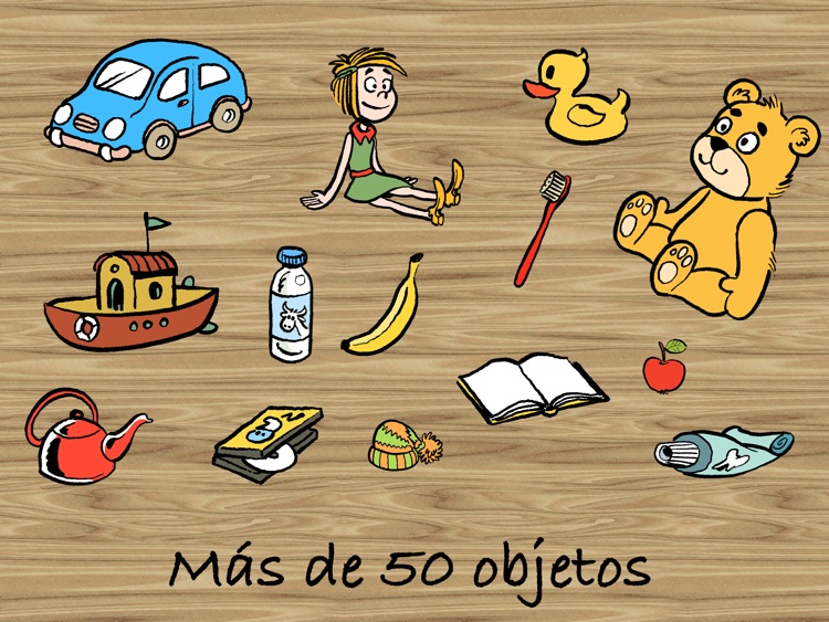 Pedro limpia la casa - un juego para niño pequeňos - español screenshot-3