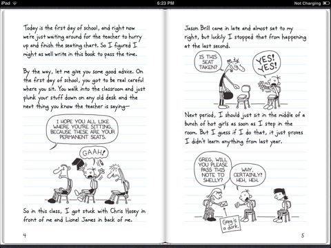 Diary of a wimpy kid by jeff kinney on ibooks screenshot 4 solutioingenieria Choice Image