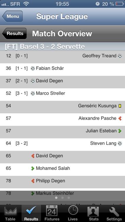 Football Super League - Challenge League [Switzerland] screenshot-3