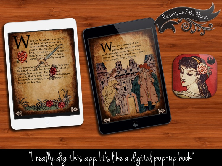 Beauty and the Beast - Interactive Bedtime Storybook screenshot-1