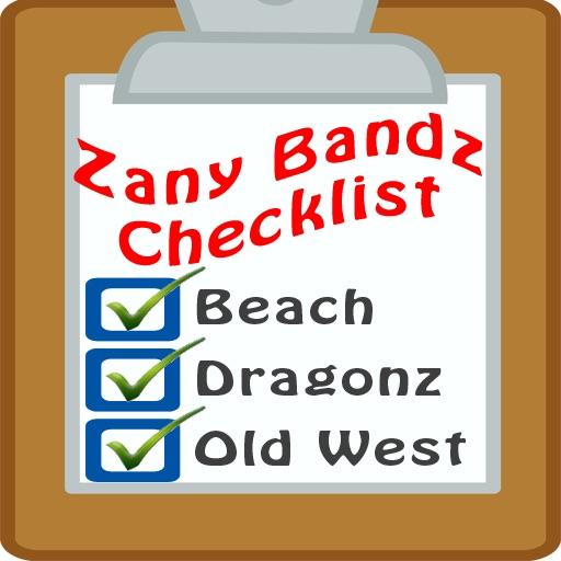Zany Bandz Checklist
