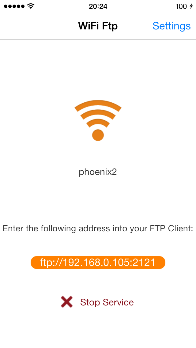 WiFi FTP Free (WiFi File Transfer)