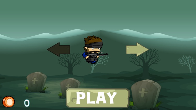 Soldier Boys in Zombie-Land – Deadly Zombies Horror Shooting Game on the Graveyard screenshot-4